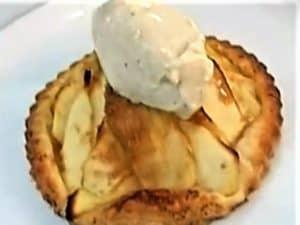 tartaleta de manzana, foto receta