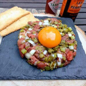 Steak Tartar receta fácil, para que te quede perfecto
