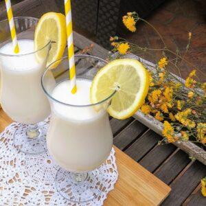 Sorbete de limón al cava rápido y refrescante
