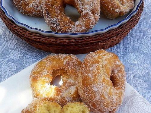 rosquillas de anís, plato terminado entrada