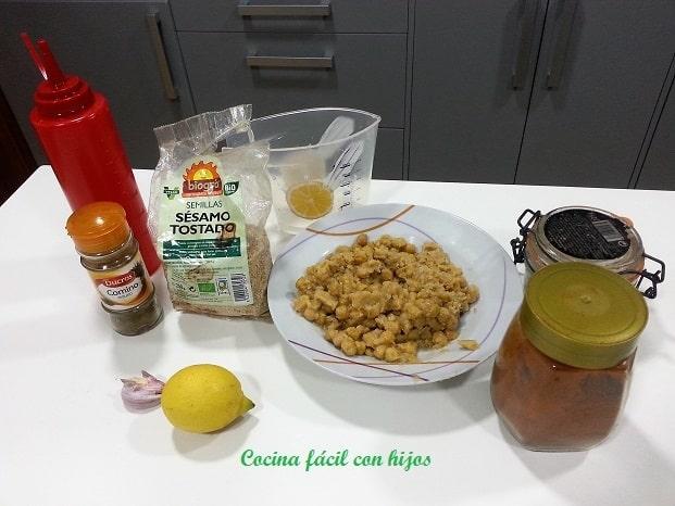 hummus receta ingredientes