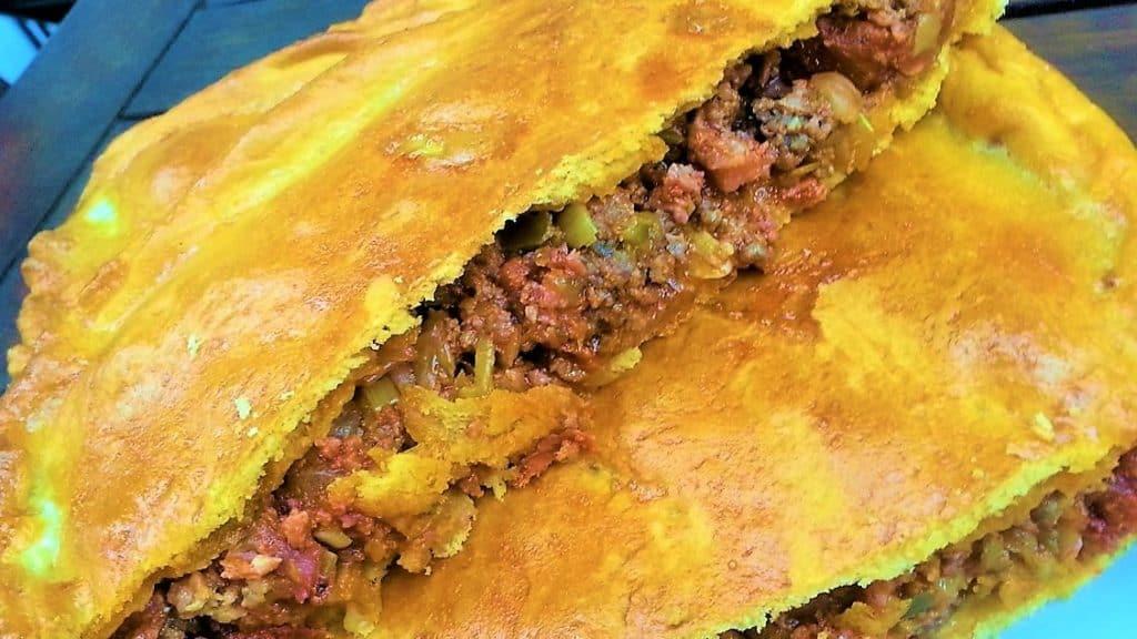 empanada gallega de carne foto presentación portada empanada hecha
