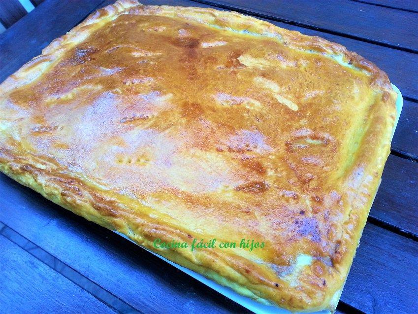 empanada gallega hecha