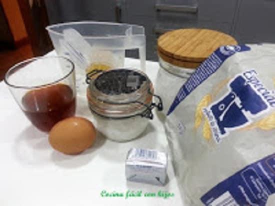masa empanada gallega,ingredientes