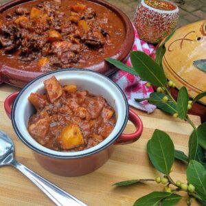 Caldereta de Cordero, receta extremeña