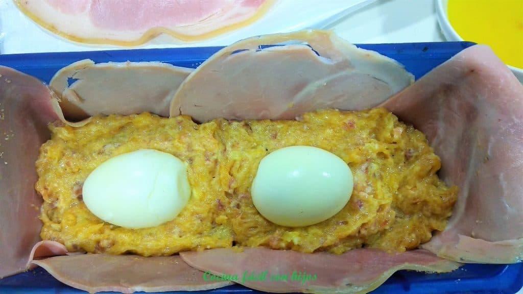 terrina con huevos duros