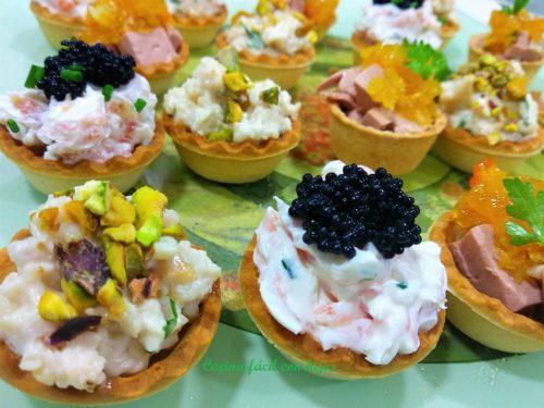 tartaletas saladas foto todas las tarletas