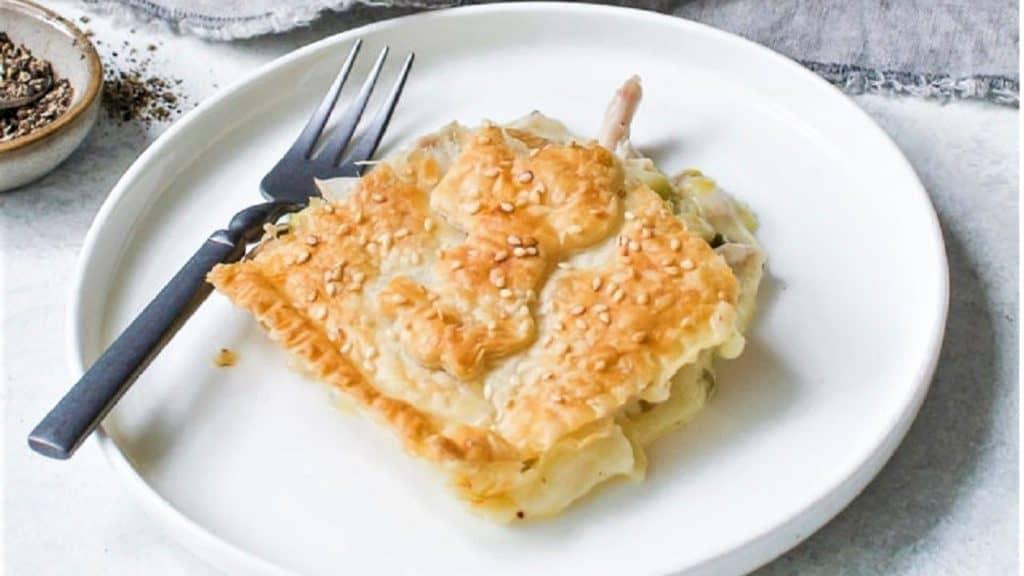 pastel de pollo al horno portada