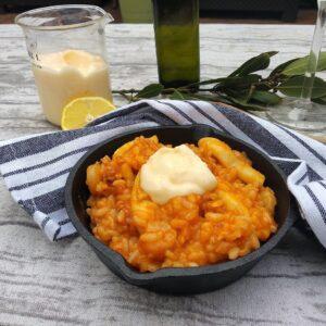 Arroz a banda, una receta con sabor mediterráneo