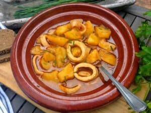 marmitako de calamares plato terminado foto receta