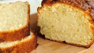 Bizcocho de harina de arroz, hecho foto receta
