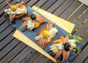 receta matrimonio boqueron y anchoa