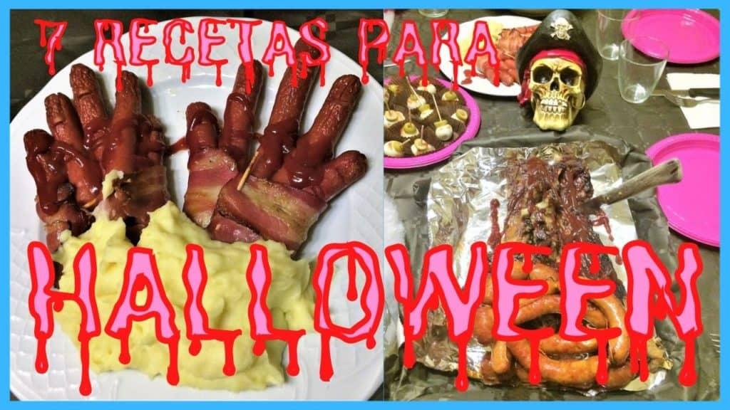7 Recetas de Halloween