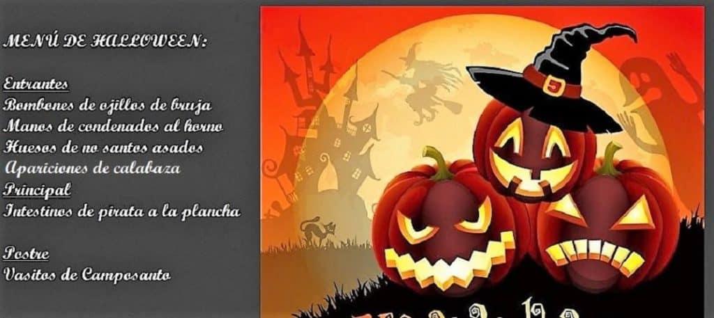 7 recetas para Halloween menú de Halloween