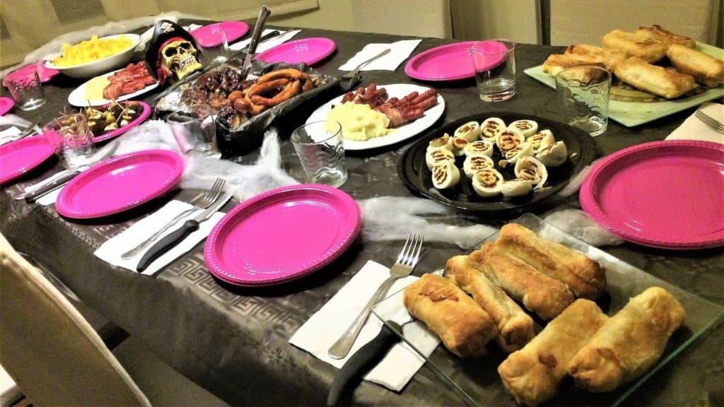 recetas halloween mesa de halloween