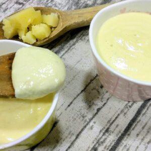 Salsa de queso para carne, con y sin Thermomix